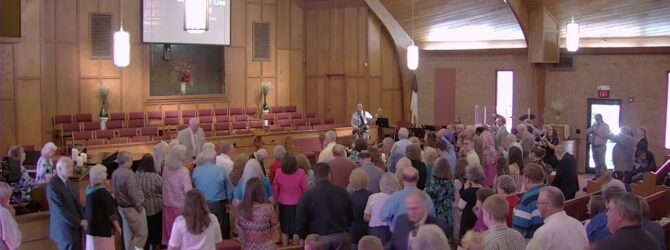 """Rev. Harry Clark """"Don't Give Up, Look What Lies Ahead"""" Sunday Morning Service 9/8/19"""
