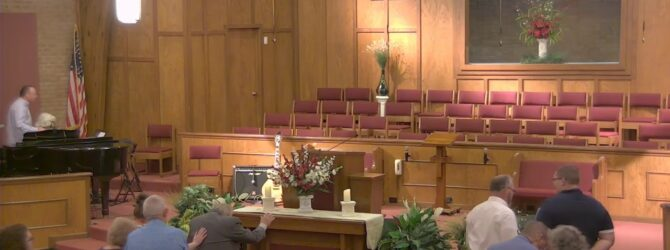 """""""The Infallible Word of God"""" Wednesday Evening Service 9/11/19 Tim Bolynn"""