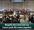 Central Church Choir & Orchestra, Worship service, October 13, 2019