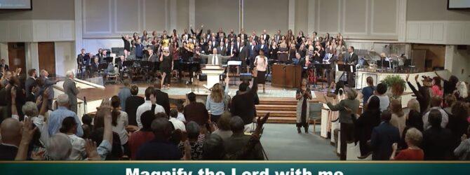 Central Church Choir & Orchestra, Worship service, October 13, 2019