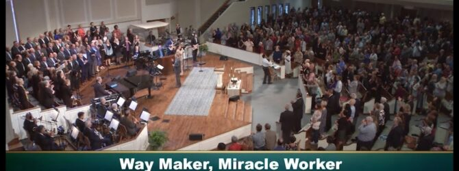 Central Church Choir & Orchestra Worship, October 6, 2019