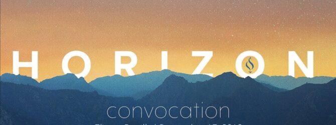 Convocation Fall 2019 with Eliezer Bonilla