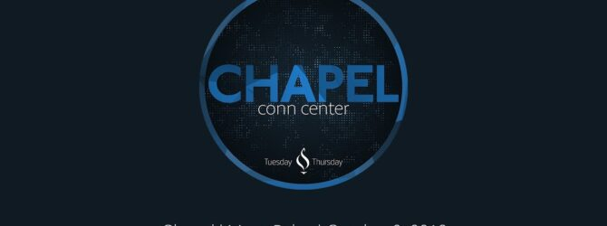 Lee University Chapel with Marty Baker