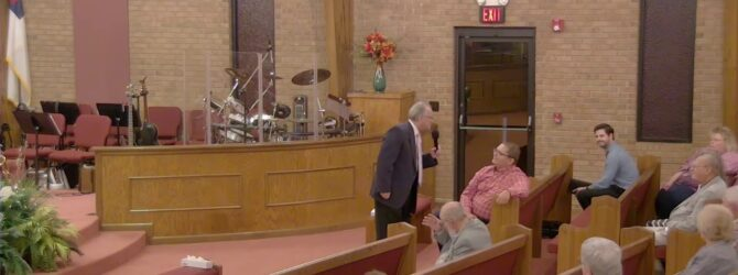 """Revelation 15"" Wednesday Evening Service 10/9/19 Pastor D.R. Shortridge"