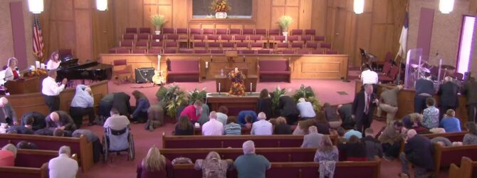 """""""The Need of Spiritual Vision"""" Sunday Morning Service 10/20/19 Pastor D.R. Shortridge"""