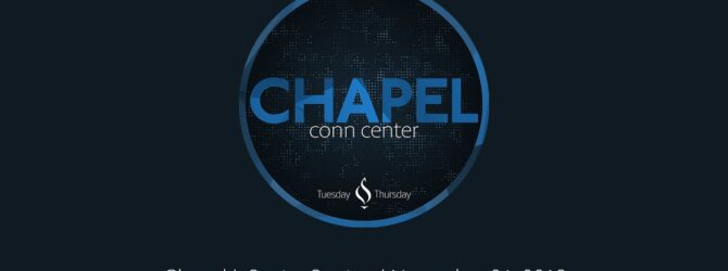 Chapel with Senior Stories