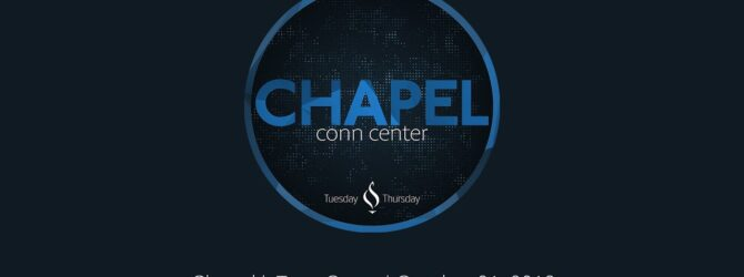 Chapel with Terry Cross