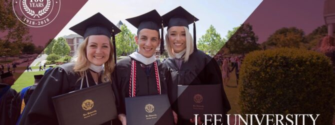Lee University Commencement Spring 2018