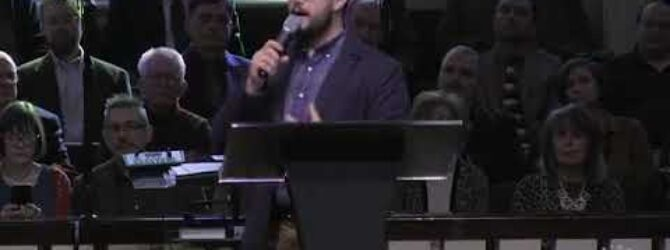 Pastor Jared Waldrop: Speaking From A Place Of Truth