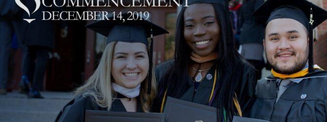 Lee University Commencement – Winter 2019