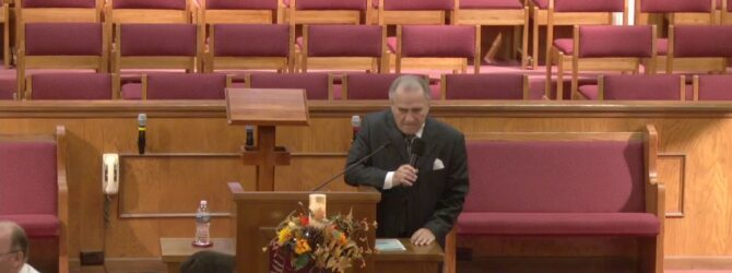 """""""The Opener and The Shutter"""" Pastor D. R. Shortridge Sunday Evening Service 12/1/19"""