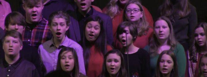 Westmore Student Choir: Sing Noel