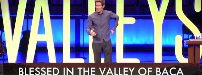 Dr. David Cooper – Blessed in the Valley of Baca