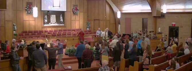 HolyGhost Service Dr. Dennis McGuire Wednesday Evening Service 1/8/2020