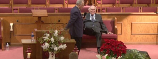 """""""Requirements for Overcoming"""" Dr. Dennis McGuire  Monday Evening Service 1/6/2020"""