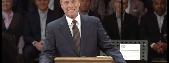 """""""The Mountain and the Garden"""" pastor Loran Livingston, January 26, 2020"""