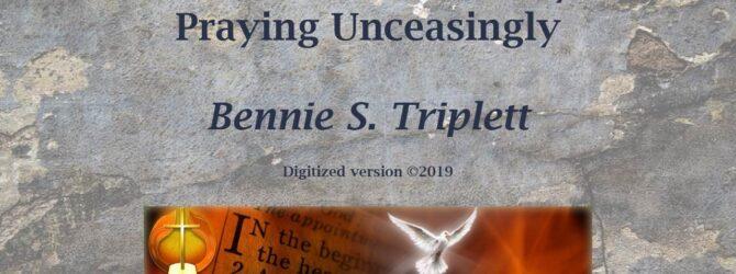 Triplett on Prayer 04