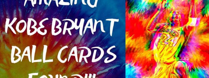 Amazing Kobe Bryant cards found!!!