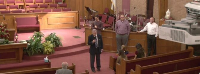 """""""Laying Down Your Life"""" Wednesday Evening Service 2/26/2020 Pastor D. R. Shortridge"""