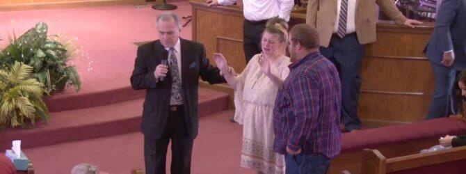 """The Departing Christ"" Pastor D. R. Shortridge Sunday Morning Service 2/23/2020"