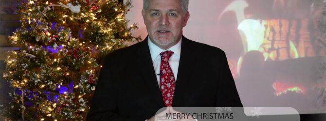 30 Second Pastor Jonathan Vorce Merry Christmas Greeting