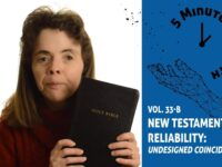 Part 2 of New Testatment Reliability with Dr. Lydia McGrew….