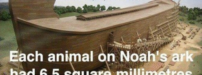 How did Noah get all of those animals on the…