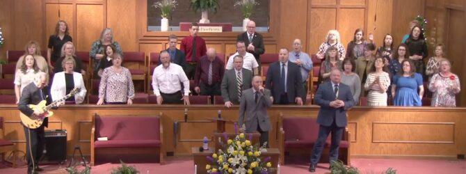 """Because He Lives"" Rev. Curtis Rhoden"