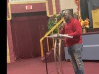 EVANGELIST CHAPLAIN DR.CARLOS CLARK GIVING A LECTURE ON PSALMS 82:6…