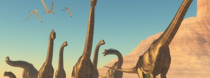 Media uses dinosaurs as a gateway drug to support evolution,…