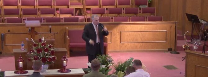 """""""God's Sevenfold Message To The Lost"""" Sunday Morning Service 3/8/20 Pastor D. R. Shortridge"""