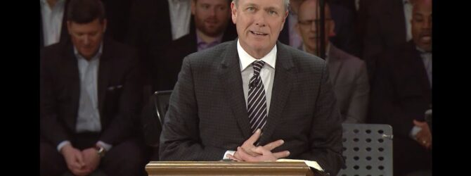 """""""Have Faith in God"""" pastor Loran Livingston, March 15, 2020"""