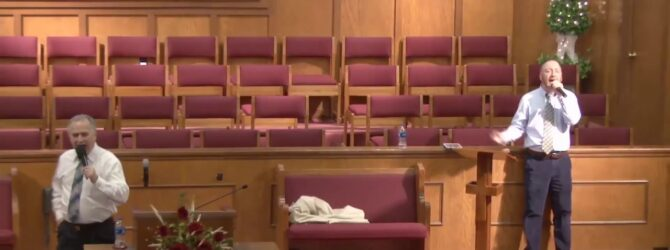 """HolyGhost Service"" Pastor D. R. Shortridge Sunday Evening Service 03/08/2020"