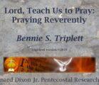 Triplett on Prayer 07
