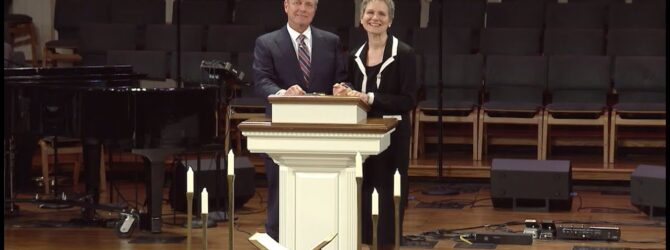 """""""We've Never Been This Way Before"""" pastor Loran Livingston, March 29, 2020 Life Message"""