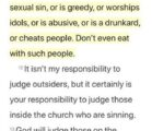 Asking for some clarity.. my church is big on preaching…