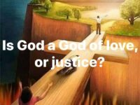 To understand the all loving God in contrast with his…