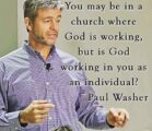 Some words to think about from Dr. Washer