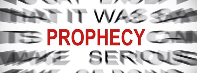 Christianity is not about prophecy but about salvation. Biblically speaking,…