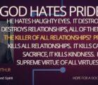 God Hates Pride – John MacArthur