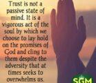 Never Stop Trusting God. Tiwala ka lang kay Lord, alam…