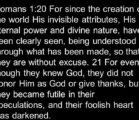 # **Atheist-skeptic imprisoned by Darwin's naturalism subtly mocks the supernatural:…