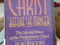 I just finished this great book on the preincarnate Son…