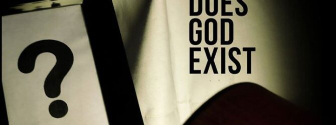 THIS POST ABOUT AN ARGUMENT IN FAVOUR OF GOD'S EXISTENCE…