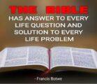 """Jesus answered,""""""""IT IS WRITTEN…'"""" (Mat 4:4)."""