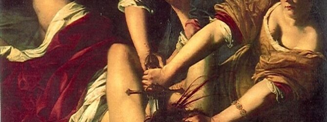 Judith decapitating Holofernes (pictured above) C.S. Lewis was famous for…