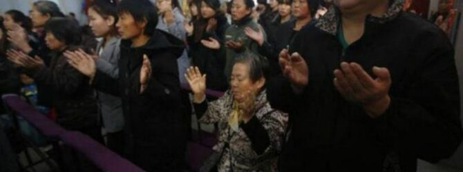 In the face of an ongoing Communist crackdown, Chinese pastors…