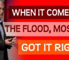 There are many ancient accounts for a devastating flood. Why…