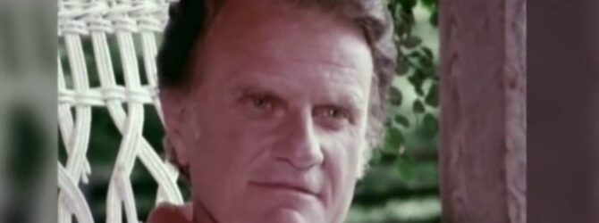 Wonderful interview with Billy Graham at his home in Montreat…