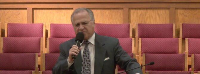 """Gentleness"" Part 2 Pastor D. R. Shortridge Wednesday Evening Service 04/15/2020"